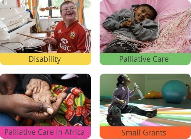 The True Colours Trust - Images from our work in Disability, Palliative Care in the UK and in Africa and Small Grants